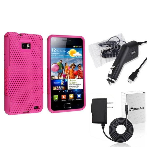 BasAcc Case/ Travel/ Car Charger for Samsung© Galaxy S2 i777