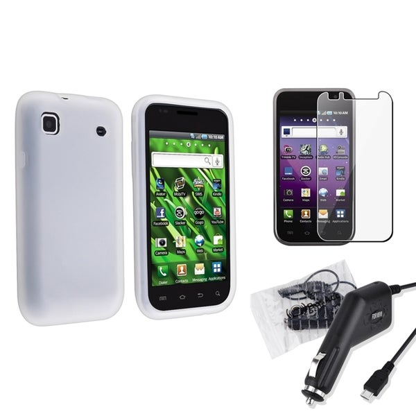 BasAcc Case/ Screen Protector/ Charger for Samsung Galaxy S 4G