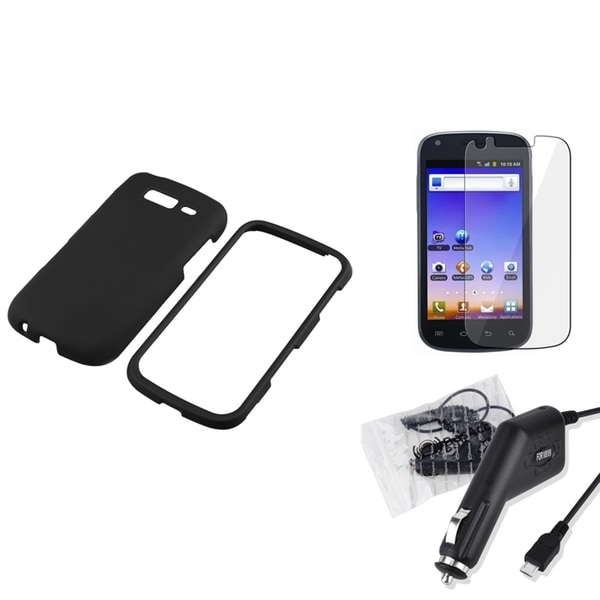 INSTEN Phone Case Cover/ LCD Protector/ Charger for Samsung Galaxy S Blaze T769