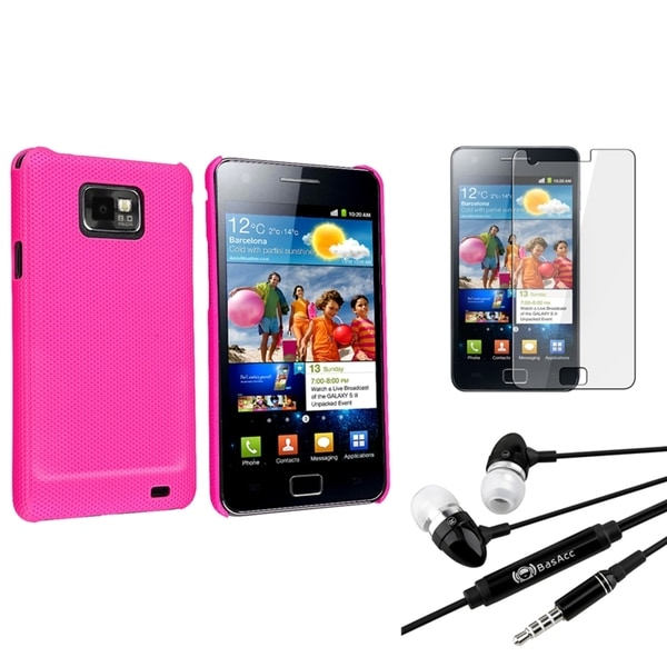 BasAcc Case/ Screen Protector/ Headset for Samsung© Galaxy S2 i9100