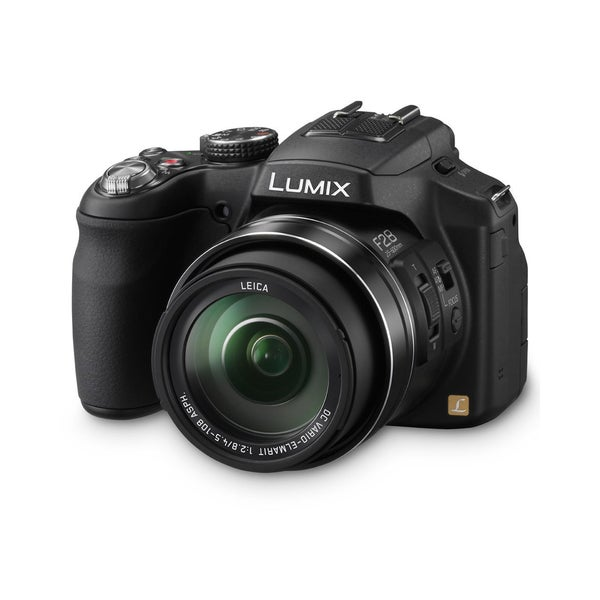 Panasonic Lumix DMC-FZ200 12.1MP Black Digital Camera Bundle
