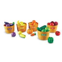 Farmers Market Color Sorting Produce Play Set