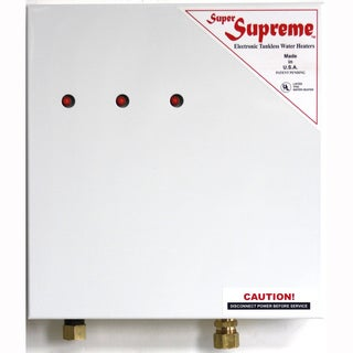 Super Supreme 18 Kw Electric Tankless Water Heater