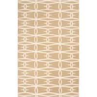 Hand-woven Missouri Wool Area Rug (2' x 3')