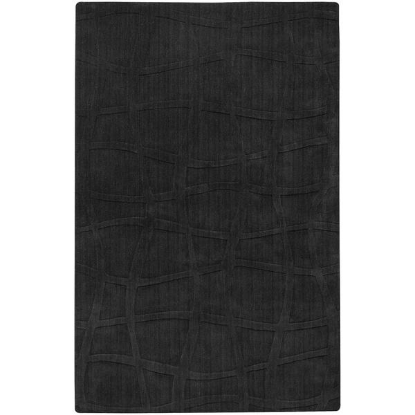 Loomed Carrollton Abstract Plush Wool Rug