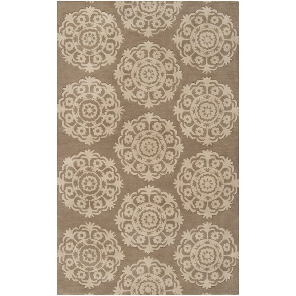 Hand-tufted Oasis Wool Rug