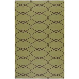 Hand-woven Molalla Wool Rug - 2' x 3'