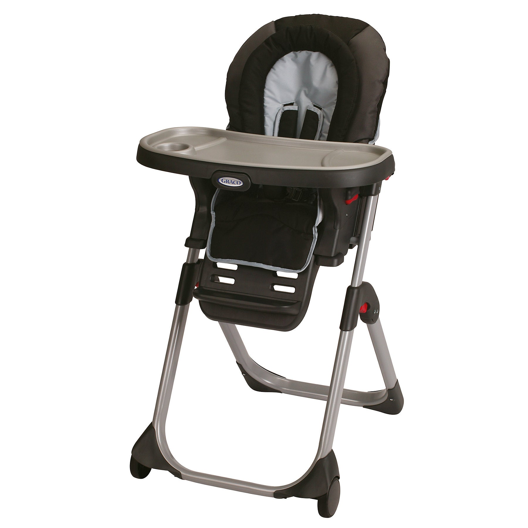 Graco Duo Diner Highchair in Metropolis (1852648), Silver...