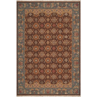 Hand-knotted Bowen Semi-worsted New Zealand Wool Rug