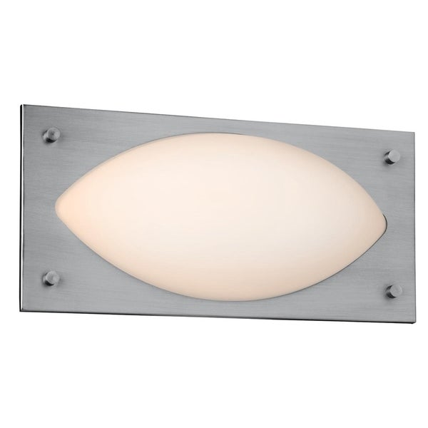 Access Hera 1-light Brushed Steel Wall Sconce