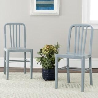 Safavieh Metropolitan Dining Polaris Grey Dining Chairs (Set of 2)