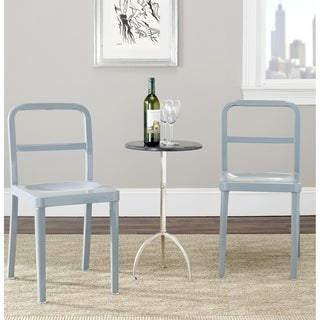 Safavieh Metropolitan Dining Kastra Grey Dining Chairs (Set of 2)