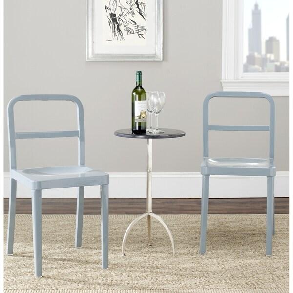 Safavieh Metropolitan Dining Kastra Grey Dining Chairs (Set of 2)