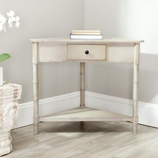 Safavieh Gomez Grey Corner Table