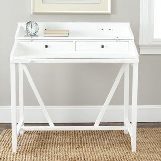 Safavieh Wyatt White Writing Desk