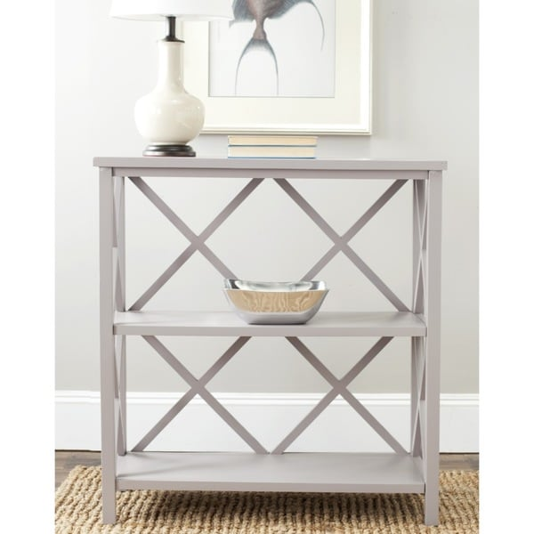 Safavieh Liam Grey Bookcase