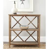 Safavieh Liam Oak Finish Bookcase