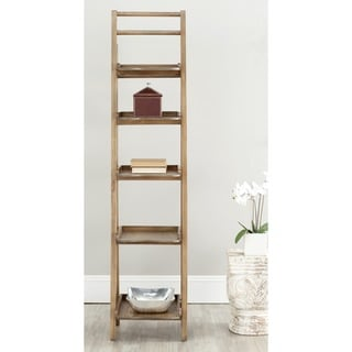 Safavieh Asher Oak Finish Leaning Etagere