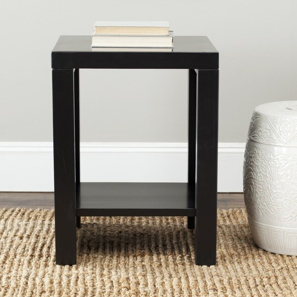Safavieh Lahoma Black End Table