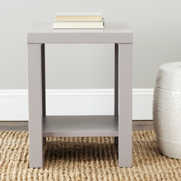 Safavieh Lahoma Grey End Table