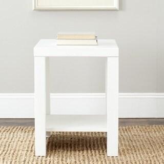Safavieh Lahoma White End Table