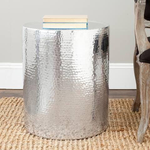 "Safavieh Polonium Silver Table - 17.3"" x 17.3"" x 20.3"""