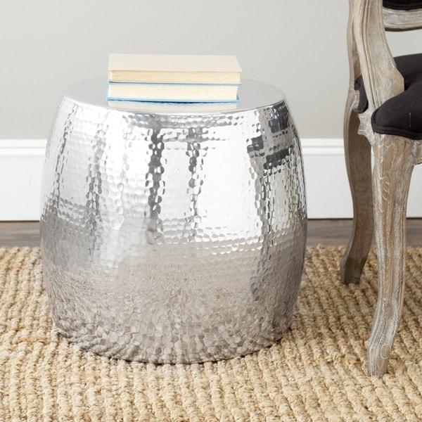 Safavieh Vanadium Silver Round Table