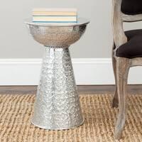 Safavieh Uranium Silver Textured Stool