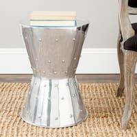 """Safavieh Rivet Aluminum Stool - 13.8"""" x 13.8"""" x 19.7"""""""