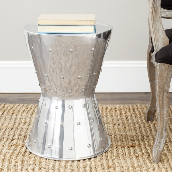 Safavieh Rivet Aluminum Stool
