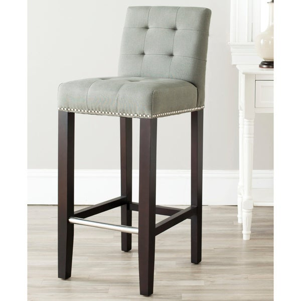 Shop Safavieh Noho Grey Bar 30 Inch Stool Free Shipping