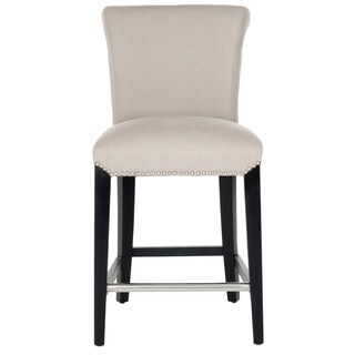 Safavieh Seth Beige 26-inch Counter Stool