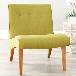 Safavieh Mid-Century Mandell Green Chair