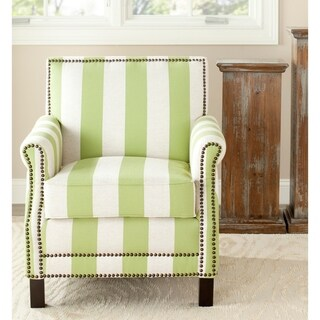 "Safavieh Mansfield Green Club Chair - 28.3"" x 33.1"" x 31.7"""
