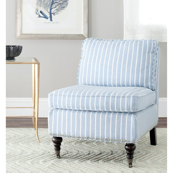 Safavieh Randy Light Blue Armless Club Chair