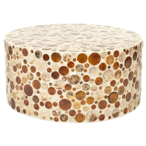 Safavieh annette off white round table free shipping for Off white round table
