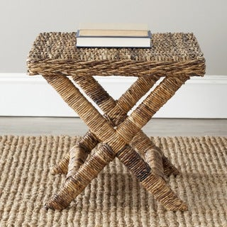 Safavieh Manor Natural Wicker X-Bench