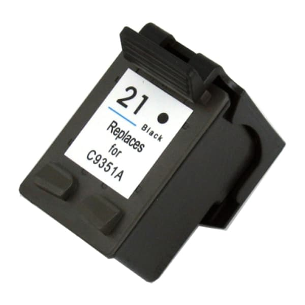 HP 21XL/ C9351AN Black Ink Cartridge (Remanufactured)