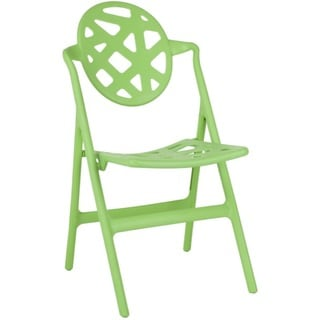 Safavieh Kendall Green Indoor/ Outdoor Folding Chairs (Set of 4)