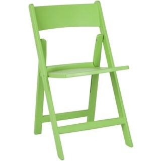 Safavieh Renee Green Indoor/ Outdoor Folding Chairs (Set of 4)