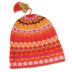 Alpaca 'Sunny Winter' Hat (Peru)