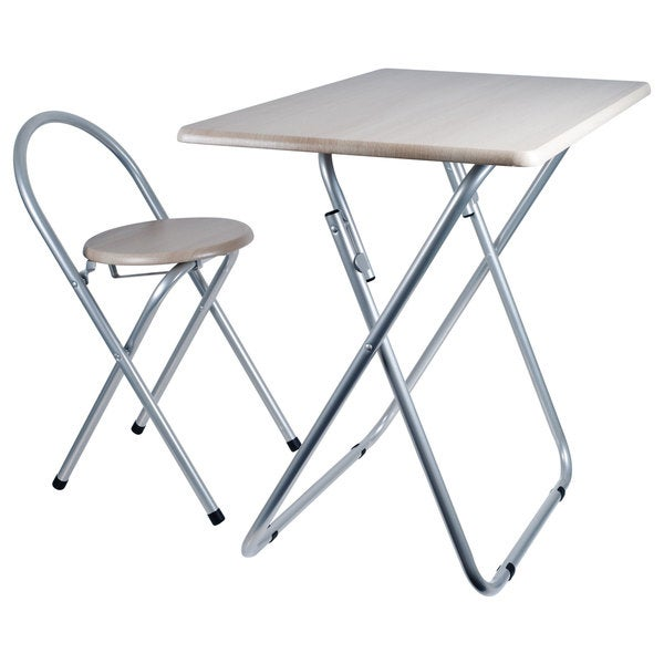 Trademark Home Folding Desk and Chair Combo