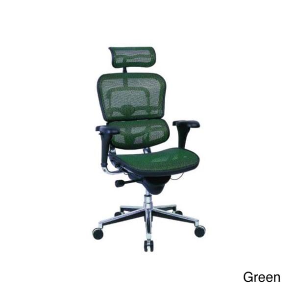 Ergohuman High Back Mesh Swivel Chair with Chrome Frame