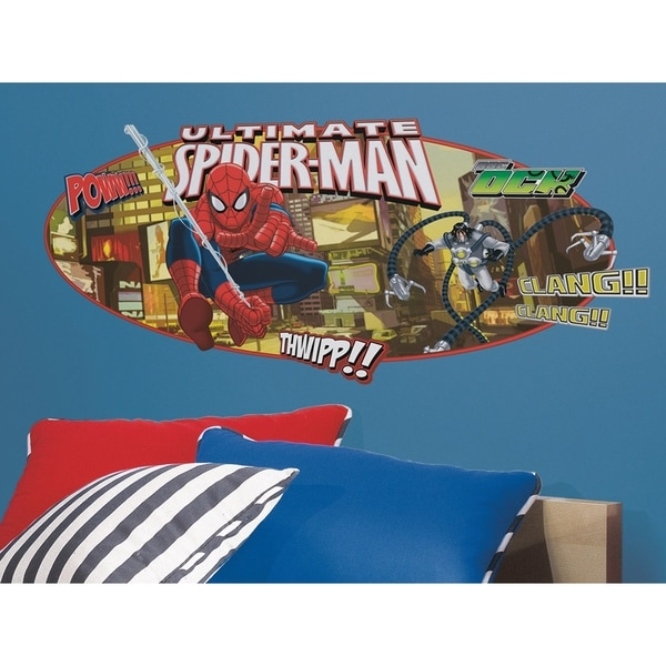 Roommates Ultimate Spiderman Headboard Peel & Stick Giant Wall Decal