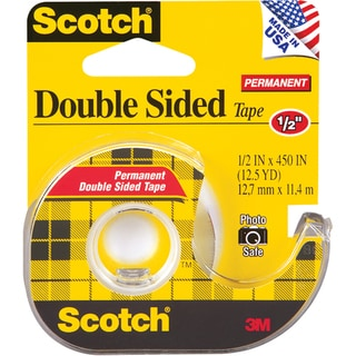 Scotch Permanent Double-sided Tape (.5 x 450)