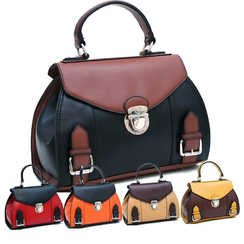 Dasein Petite Two-toned Satchel