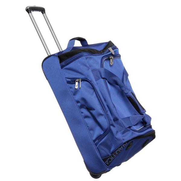 Nautica Charter 24-inch Wheeled Upright Duffel Bag