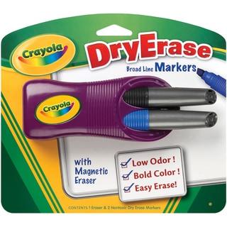 Crayola Dry-Erase Broad Line Markers