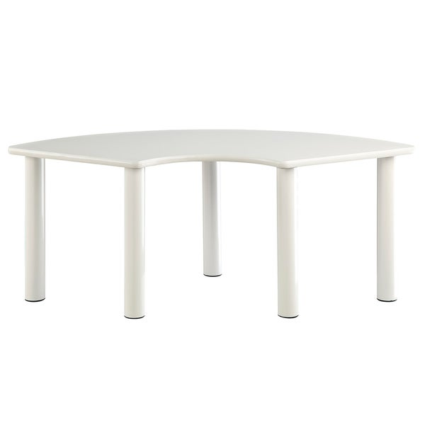 Office Star Products Taylor White Children's Table