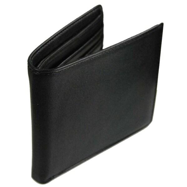 Castello 'Romano' Leather Slim Fold Wallet